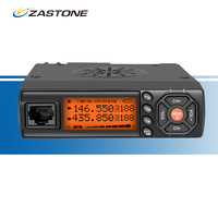 ZASTONE Z218 Mini Car Mobile Radio 25W Car Walkie Talkie 10KM VHF UHF 136 174MHz 400