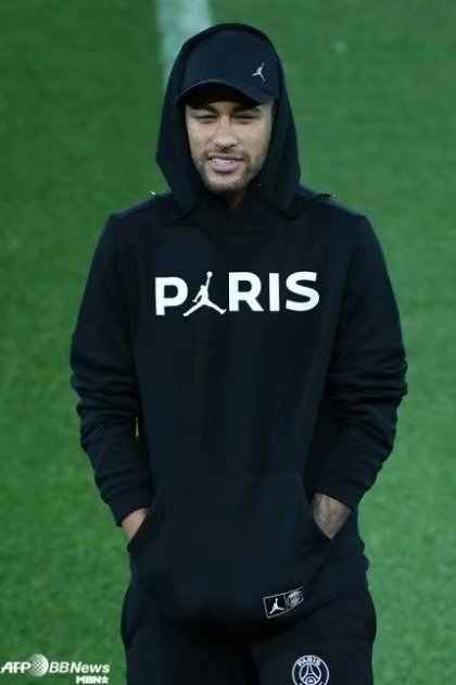 bf8f2867b147 18 19 adult champions league PSG Jersey neymar football jacket sweat  training suit Paris Coat sweater