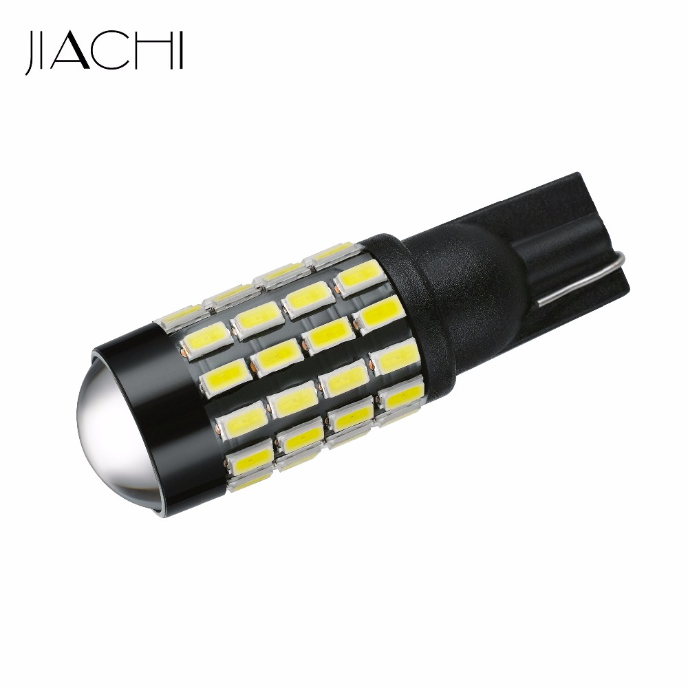 JIACHI 100PCS Lot Wholesale T10 W5W LED Car Light Bulbs W5W 194 168 2825 3014 SMD