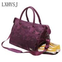 The New Women Travel Bags Fashion Pu Large Capacity Waterproof Luggage Duffle Bag Men Travel Bags
