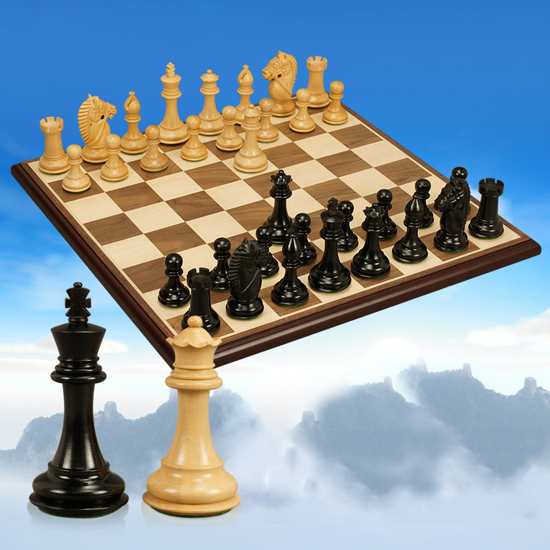 BSTFAMLY wood chess set game, portable game of international chess, padauk and boxwood chess pieces wood King Height 101mm, LA25 bstfamly chess set abs plastic plating process and metal aggravation chess pieces high grade king height 90mm chess game la100