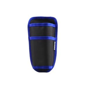 Image 2 - Selens 블랙 허리 가방 케이스 파우치 D 링 스트랩 Monopod Unipod 삼각대 용
