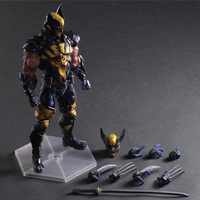 29cm Anime Wolverine figurine nendoroid Wolverine Joint Movable Action Figure Model toy for Children Birthday Gift