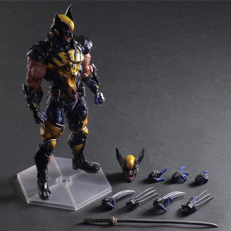 29cm Anime Wolverine figurine nendoroid Wolverine Joint Movable Action Figure Model toy for Children Birthday Gift29cm Anime Wolverine figurine nendoroid Wolverine Joint Movable Action Figure Model toy for Children Birthday Gift
