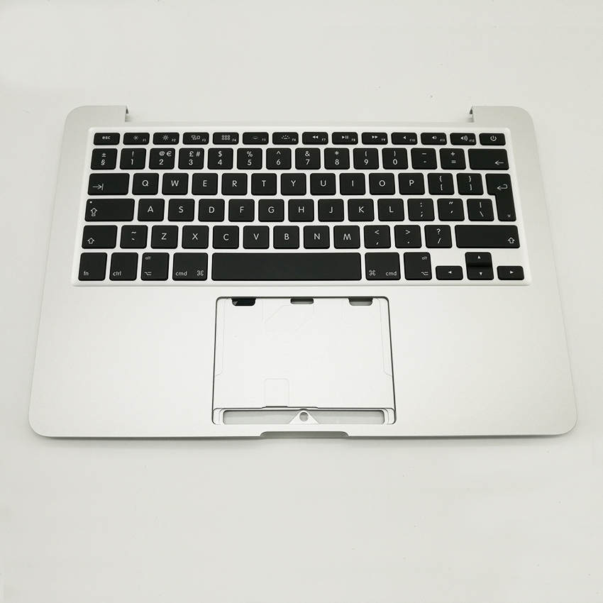 New Top Case Palmrest With UK Keyboard Backlight For Macbook Pro Retina A1502 13