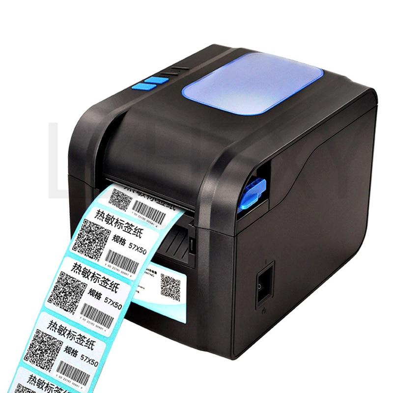 Direct Thermal Line USB port Barcode Label Printer, barcode label thermal printer 20- 80mm thermal barcode printer 1pc 80mm thermal printer new upgrade quality hprt lpq80 printers pos printer barcode printer
