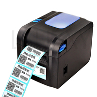 Directe Thermische Lijn usb-poort Barcode Label Printer  barcode label thermische printer 20-80mm thermische barcode printer 1 pc