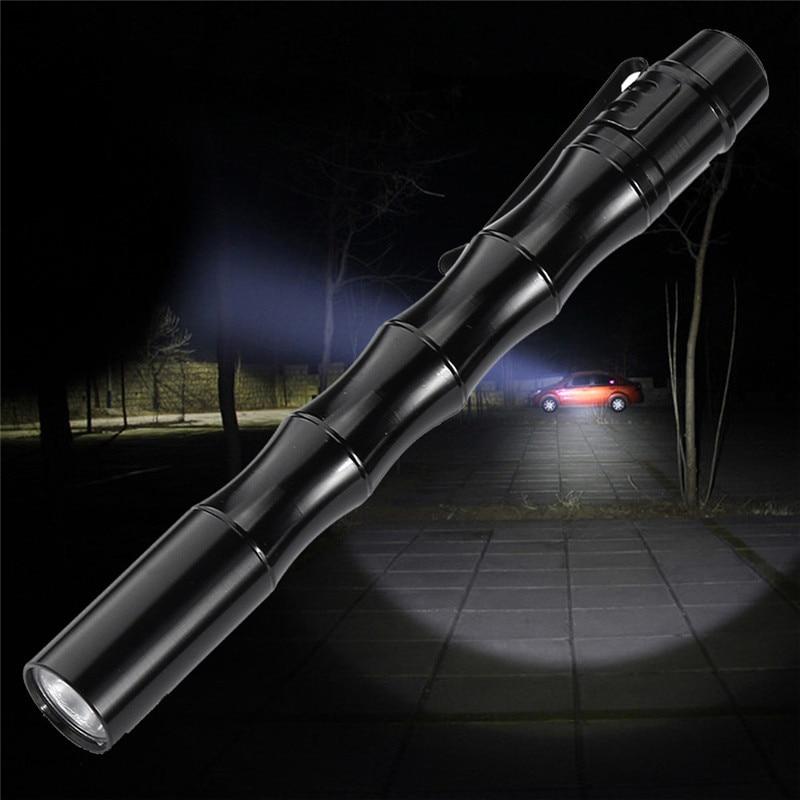 Tactical Mini Pen Pocket XP-E R2 LED 1000LM Flashlight Torch Fine lanterna Waterproof Dropshipping