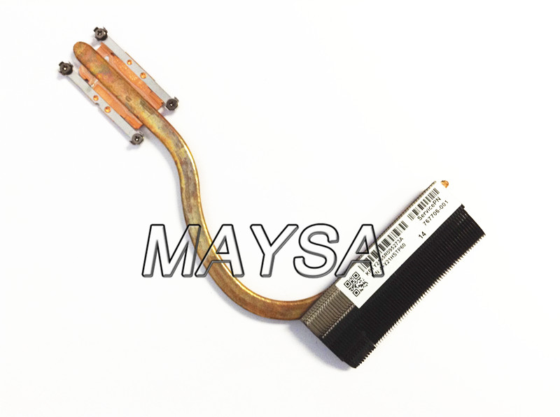 все цены на Genuine Original Laptop Cooler For HP 14-P 15-P 17-P 15-K 14-V Radiator HeatSink 767706-001 100% Tested Fast Ship онлайн