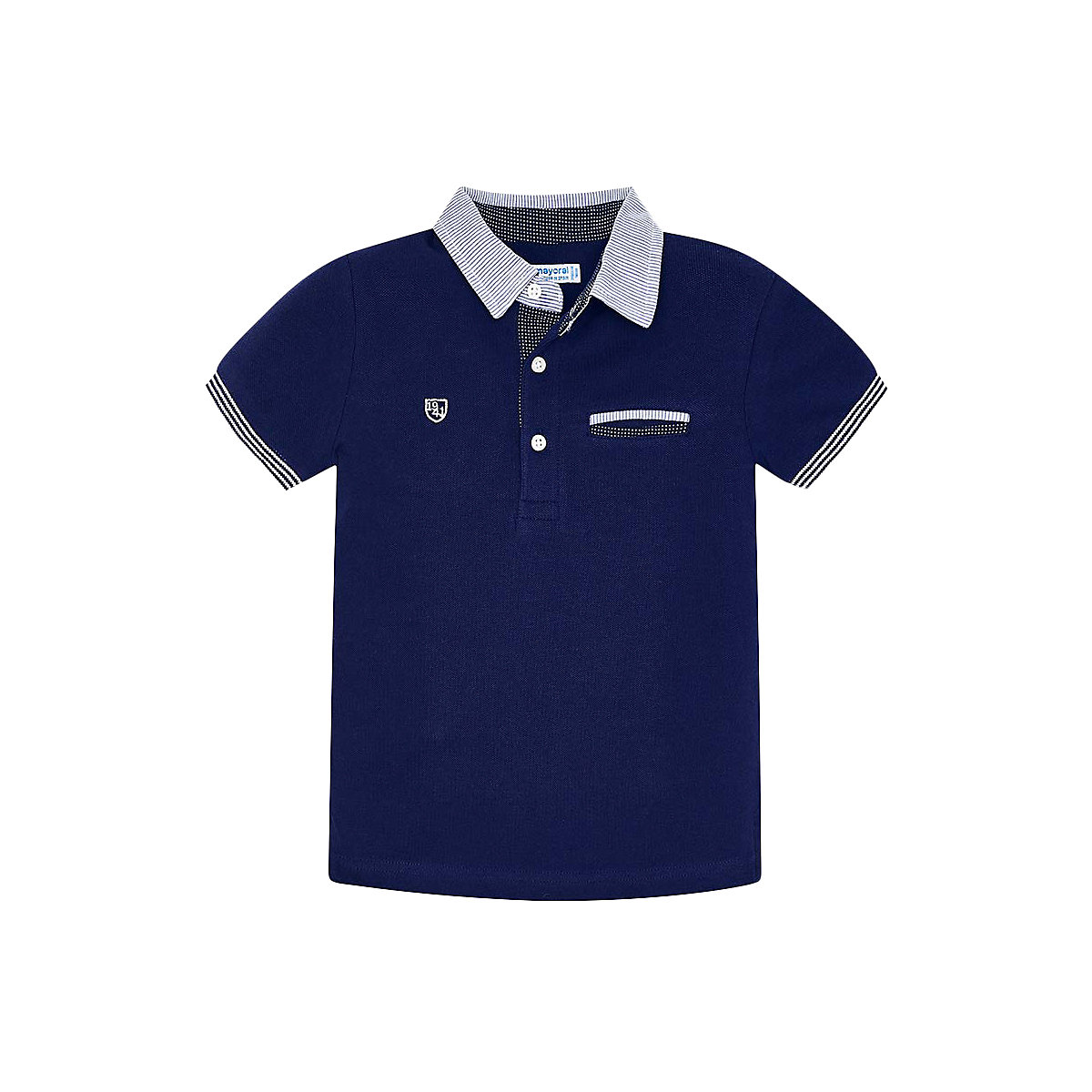 MAYORAL Polo Shirts 10691679 children clothing t-shirt shirt the print for boys tiger 3d print basic t shirt