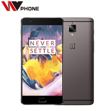 """Original Oneplus 3t A3010 LTE 4G Mobile Phone Snapdragon 821 5.5"""" Android 6.0 6G RAM 64/128G ROM 16MP Fingerprint ID NFC"""