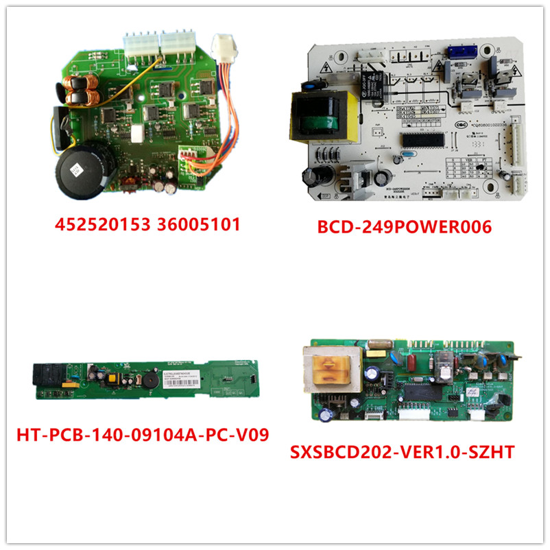 452520153 36005101  BCD-249POWER006  HT-PCB-140-09104A-PC-V09  SXSBCD202-VER1.0-SZHT Used Good Working