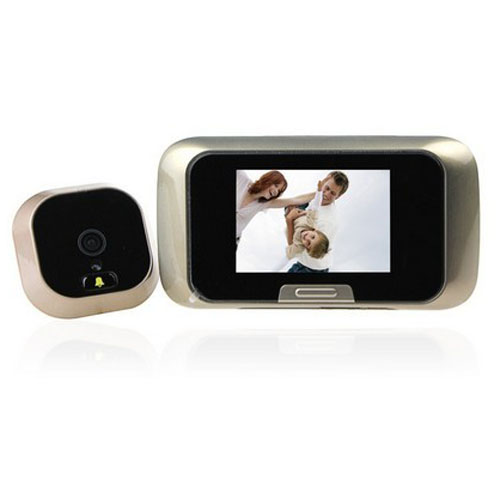 2.8 Inch LCD Display Video Door Phone Take Photo And Video Peephole Viewer