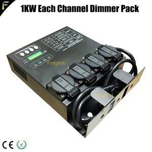 Image 5 - Cpu Digitale Technologie Matrix 4 Kanalen 1kw Dmx Dimmer Achter Controller Dimmen Pack Voor Stage Verlichtingsarmaturen