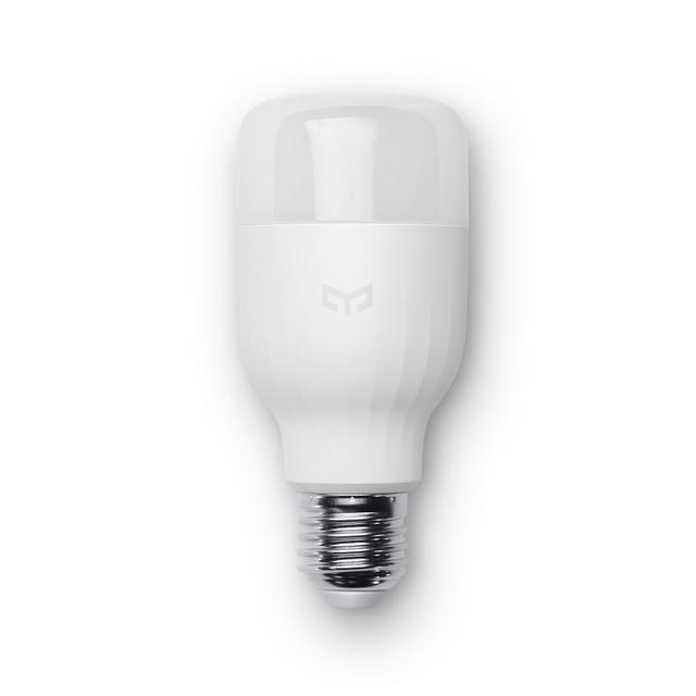 Originais xiaomi mi yeelight lâmpada led inteligente smartphone app wifi controle remoto luz 8 w cor branca luz