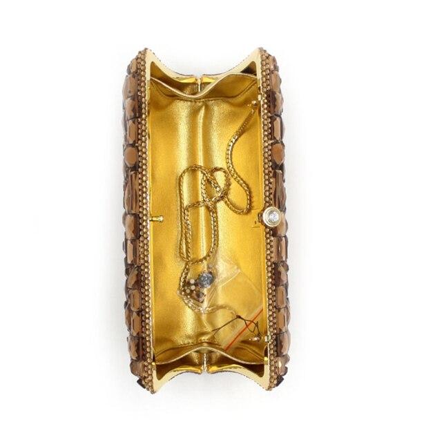 XIYUAN BRAND women new 2017 most lovely funny bag flap shape gold clutch fashion evening bags shoulder crossbody messenger bag