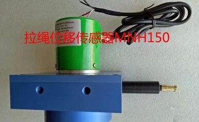 Livraison gratuite MNH-300-4500MM-mA 4-20ma sortie tirer corde déplacement capteur tirer corde règle.