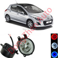 Dongzhen auto accessories car LED front fog lights strobe line group For Peugeot 308 2011-2013 car styling parking