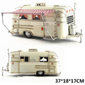 Brand New Vintage Car Model Toys Caravan/Camper Handmade Metal Artefact Model Toy For Gift/Collection/Decoration