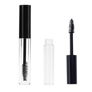 Image 3 - Empty Refillable Bottles Plastic DIY Mascara Tube Eyelash Cream Wand Container Bottle Vials With Brush