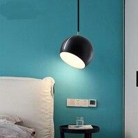 Nordic современный минималистский Творческий персонализированные ресторанное освещение бар прикроватная тумбочка для спальни мяч дизайн не