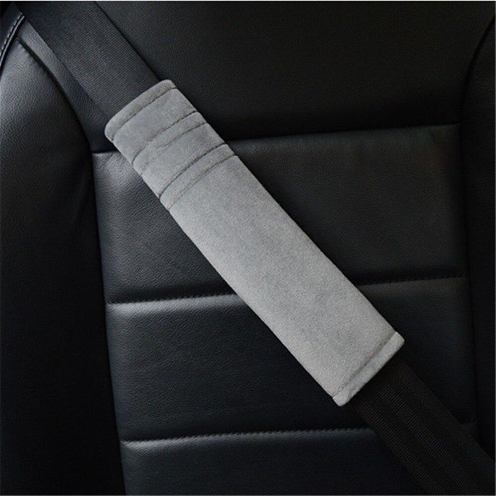 2 Pcs Cintura Di Sicurezza Dell'auto Coperture Protezione Della Spalla Auto Cintura Di Sicurezza Coperchio Di Protezione Car Styling Imbottiture Per Spalle Cintura Di Sicurezza Imbracatura Della Cinghia Sii Amichevole In Uso