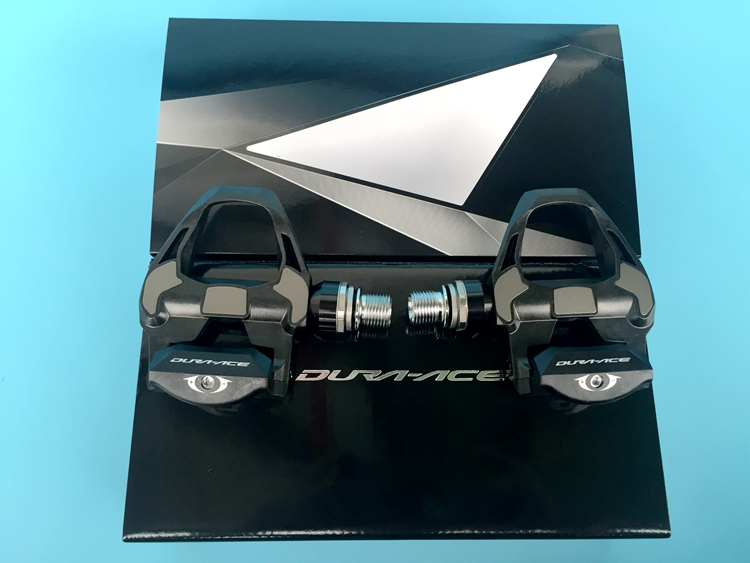 Shimano Dura-ace PD-R9100 Carbon <font><b>Pedals</b></font> & SM-SH12 Cleats for Road Triathlon <font><b>Bike</b></font>