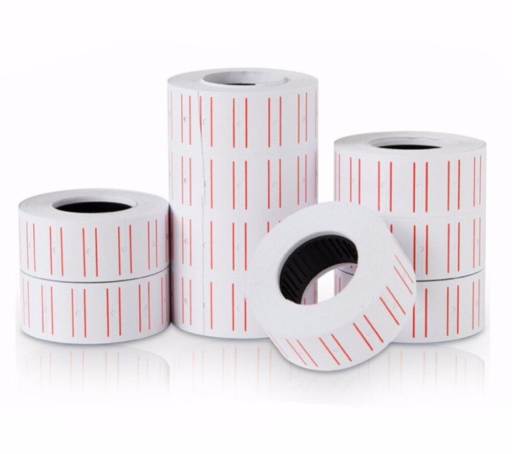 10 Pcs 9000 Price Labels Paper Adhesive Price Tag For Mx5500 Price Gun Labeller