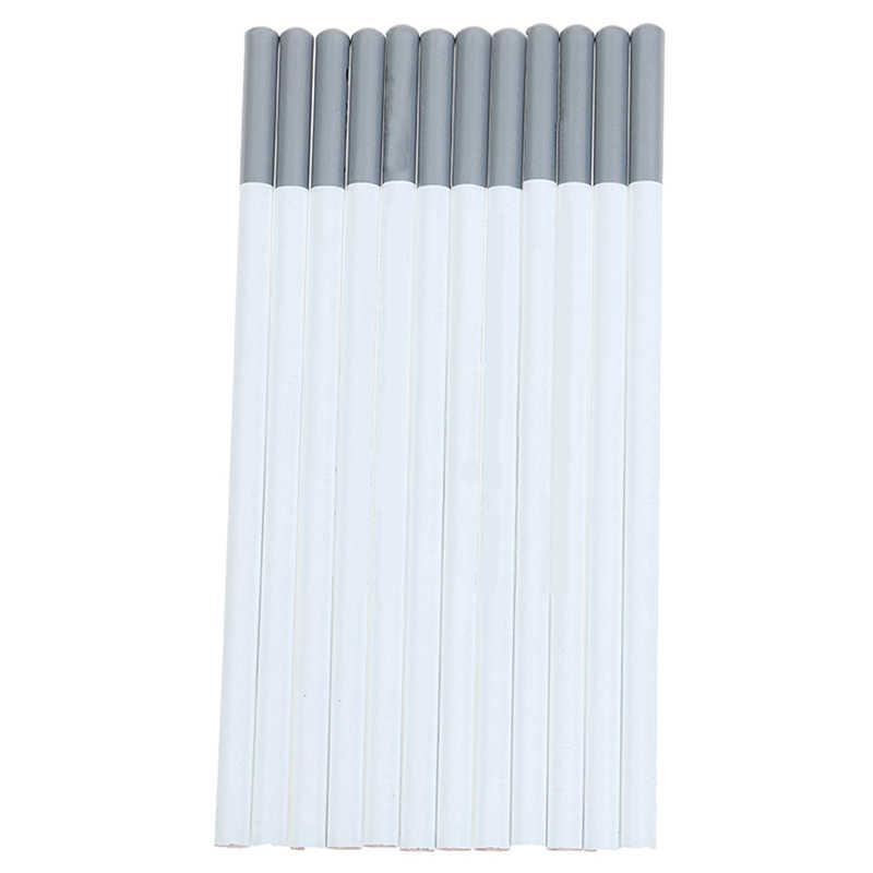 Profissional branco esboço lápis de carvão padrão lápis desenho lápis conjunto para a escola ferramenta pintura arte suprimentos
