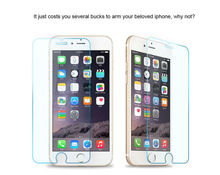 3pcs Front Explosion Proof Covering 2 5D 9H Tempered Glass Screen Protector For iPhone 6 4