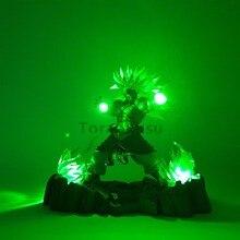 Dragon Ball Led Head Lighting PVC Toy