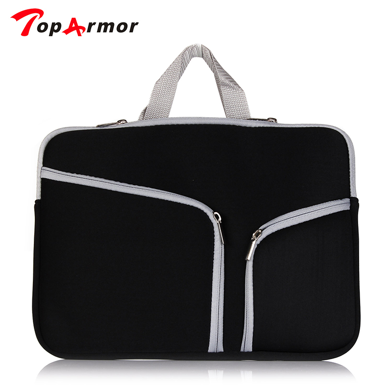 TopArmor Laptop Bag Sleeve Notebook Cover Case Pouch Handbag Carry Bag For Macbook Pro Retina 13 15  Macbook Air 11 13