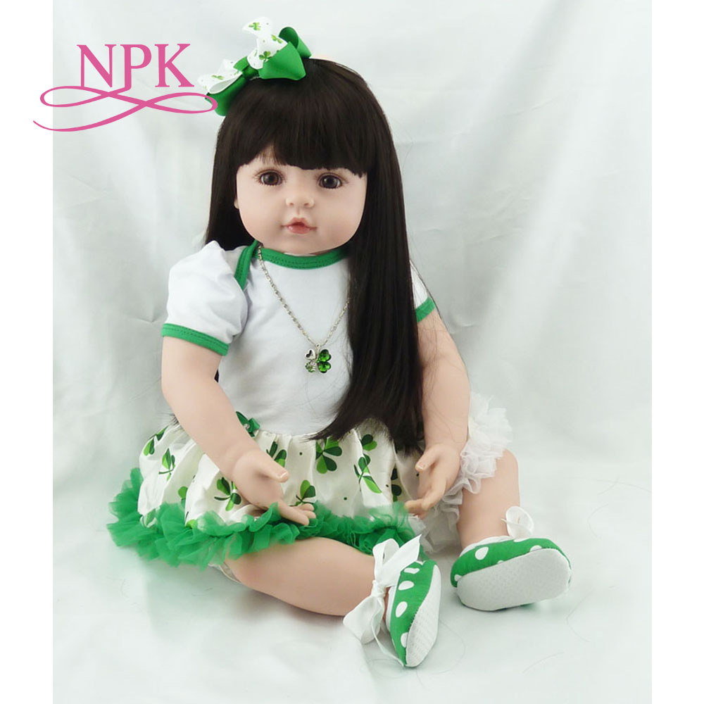 Здесь продается  NPK lovely 58cm american girl simulation newborn baby girl best Children