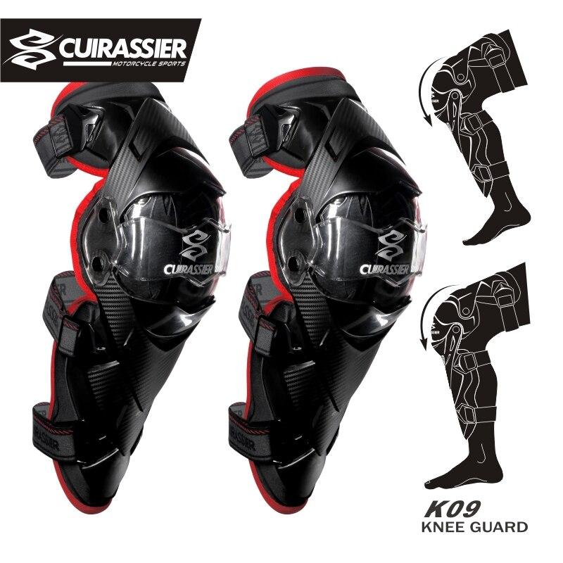 Cuirassier Qoruyucu Kneepad Motosiklet Diz Yastıqları Yoldan - Motosiklet aksesuarları və ehtiyat hissələri - Fotoqrafiya 4