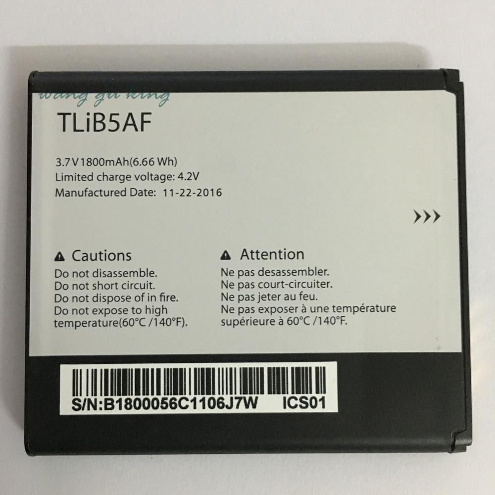 1800 mAh! NOUVEAU TLiB5AF Batterie Pour Alcatel One Touch OT Pop C5 5036 5036D 5037 5037D 5037A 5037X