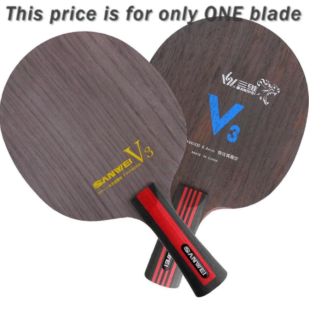 ФОТО Original Sanwei V3 V 3 V-3 table tennis pingpong blade