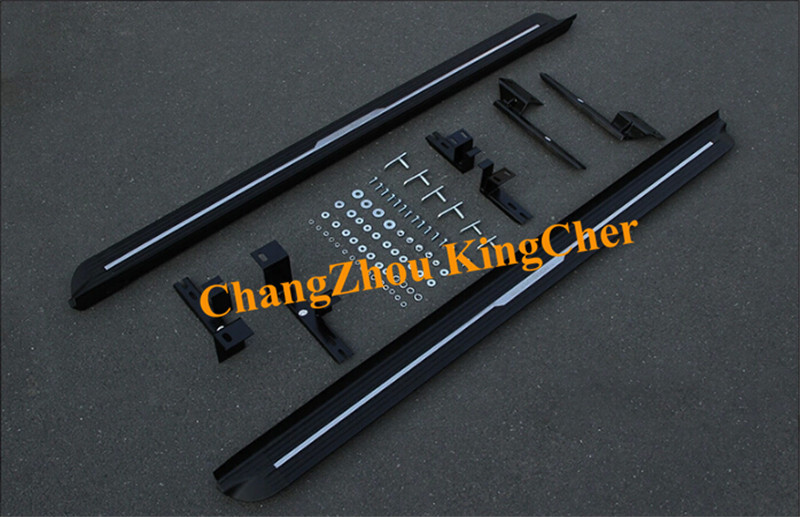 New style!! Aluminium running board side step nerf bar Suitable for CADILAC SRX 2010-2015