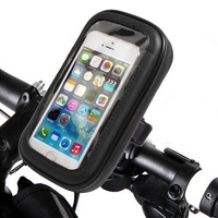 Universal Waterproof Motorcycle Phone Holder for iPhone X 8 7 6S Android Bike Smartphone Devices Bike Phone Pouch Rotatable Case