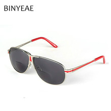 BINYEAE Bifocal Reading Glasses Unisex Diopter Glasses Male Polarized Sunglasses Presbyopic Eyeglasses +1.0+1.5+2.0+2.5+3.0+3.5