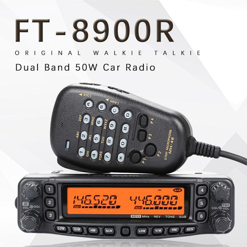 General YAESU FT 8900R FT 8900R Профессиональный Мобильный автомобиль двухстороннее радио/Автомобильный приемопередатчик Walkie Talkie Interphone