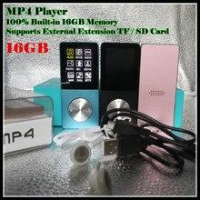 """Thể Thao Âm Nhạc HIFI MP3 MP4 100% Xây Dựng Trong 16GB Bộ Nhớ Thực 1.8 """"LCD Truyền Thông Trò Chơi Điện Tử bộ Phim FM Xem Ảnh, Xem với TF/SD Khe Cắm"""