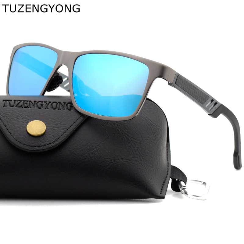 8b7132cf7f10a ⑦2018 Brand Fashion Men s Polarized Sunglasses Aluminum Magnesium ...