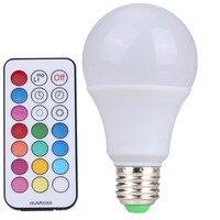 10pcs Led Bulb R80 10W E27 B22 RGBW LED Bulb Color Light RGB White Dimmable LED