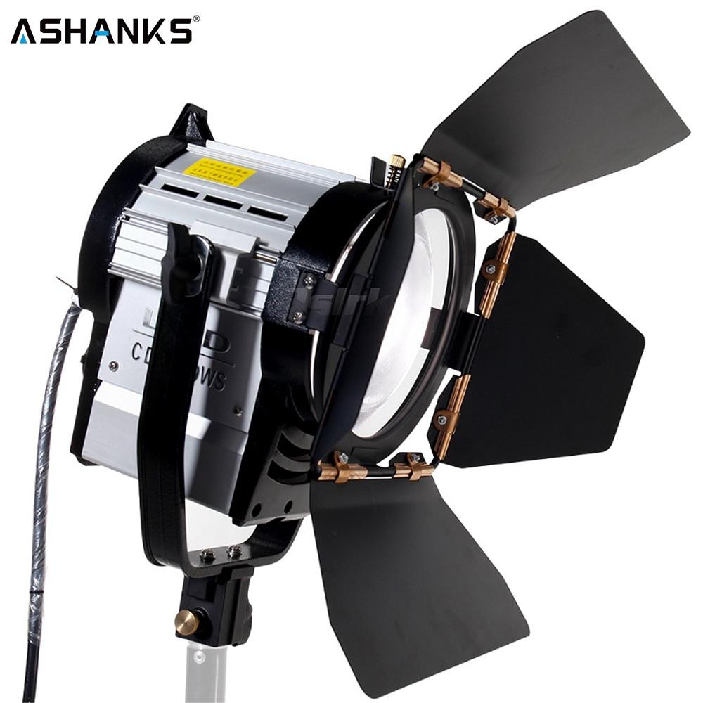 ASHANKS 100 W Studio LED projecteur de Fresnel avec gradateur 3200-5500 K éclairage de lampe pour photographie Studio caméra Photo vidéo