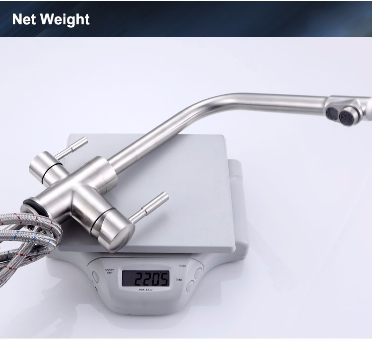 Stainless steel 3 way filter faucet (10)