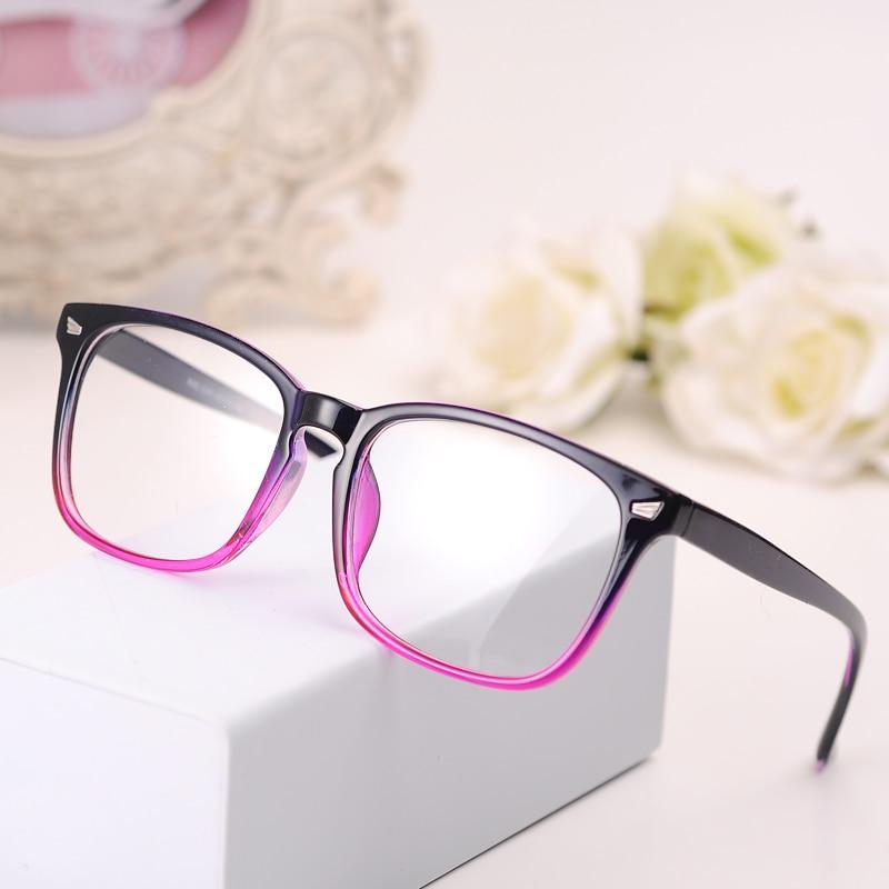 BOYEDA New Eyeglasses Men Women Suqare Brand Designer Eyewear Frame Optical Computer Female Transparent Eye Glasses Frame Oculos