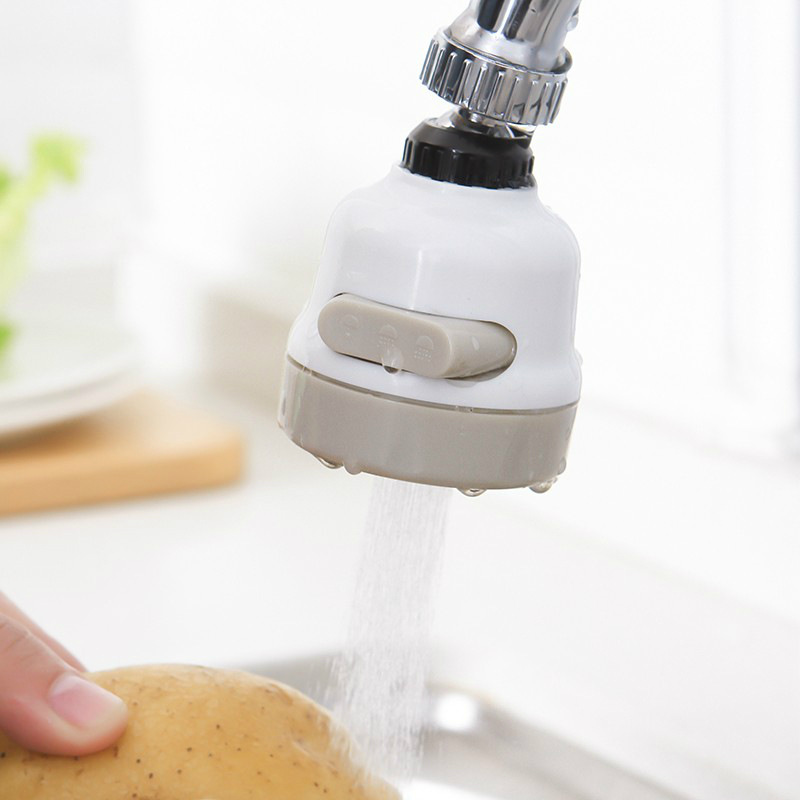 Universal Moveable Kitchen Tap Head 360 Degree Rotattion Ajustable Faucet Water Saving Filter Sprayer
