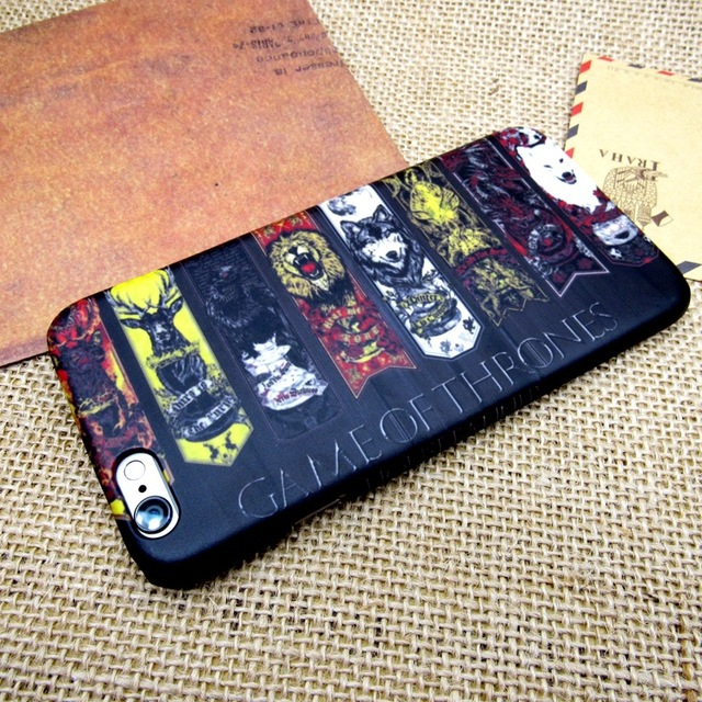 Game of Thrones The Houses Case for iPhone