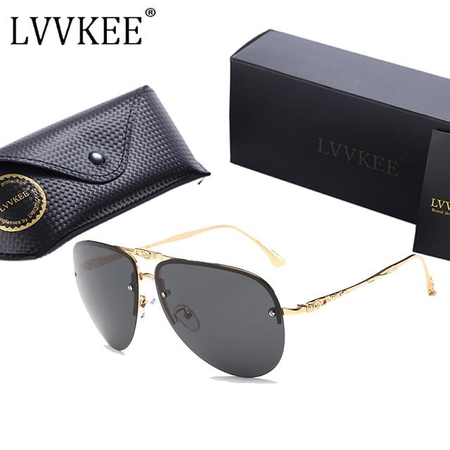 260eff2205dfd LVVKEE 2018 design da marca Das Mulheres de Luxo HD óculos polarizados  óculos de Condução óculos