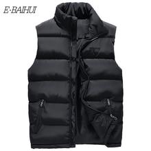 Vest Men New Stylish 2019 Autumn Warm Sleeveless Jacket Winter Waistcoat Mens Fashion Casual Coats Plus Size L299